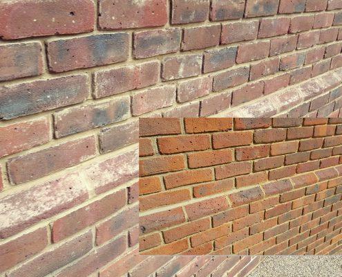 Dry Ice Blasting Brick Walls